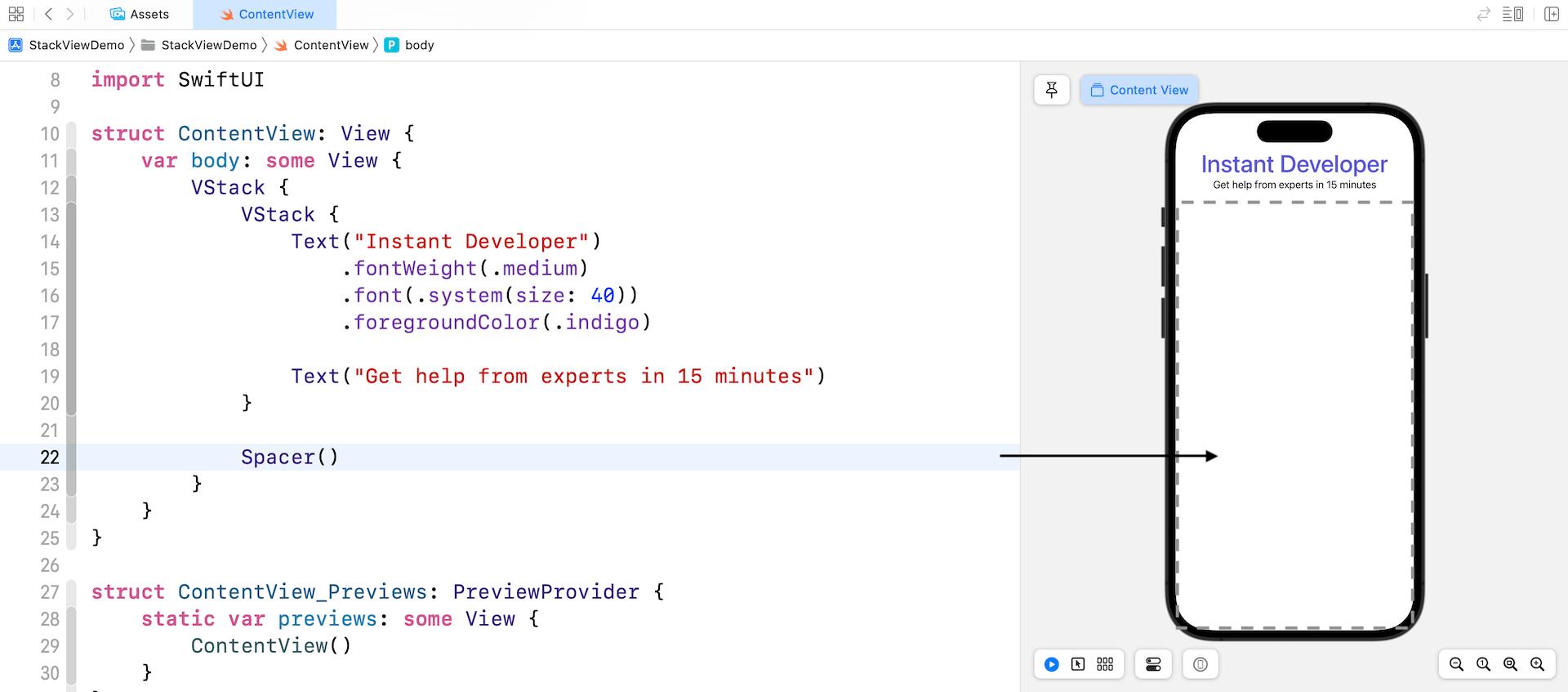 Chapter 6 - Designing UI Using Stack Views · Beginning iOS