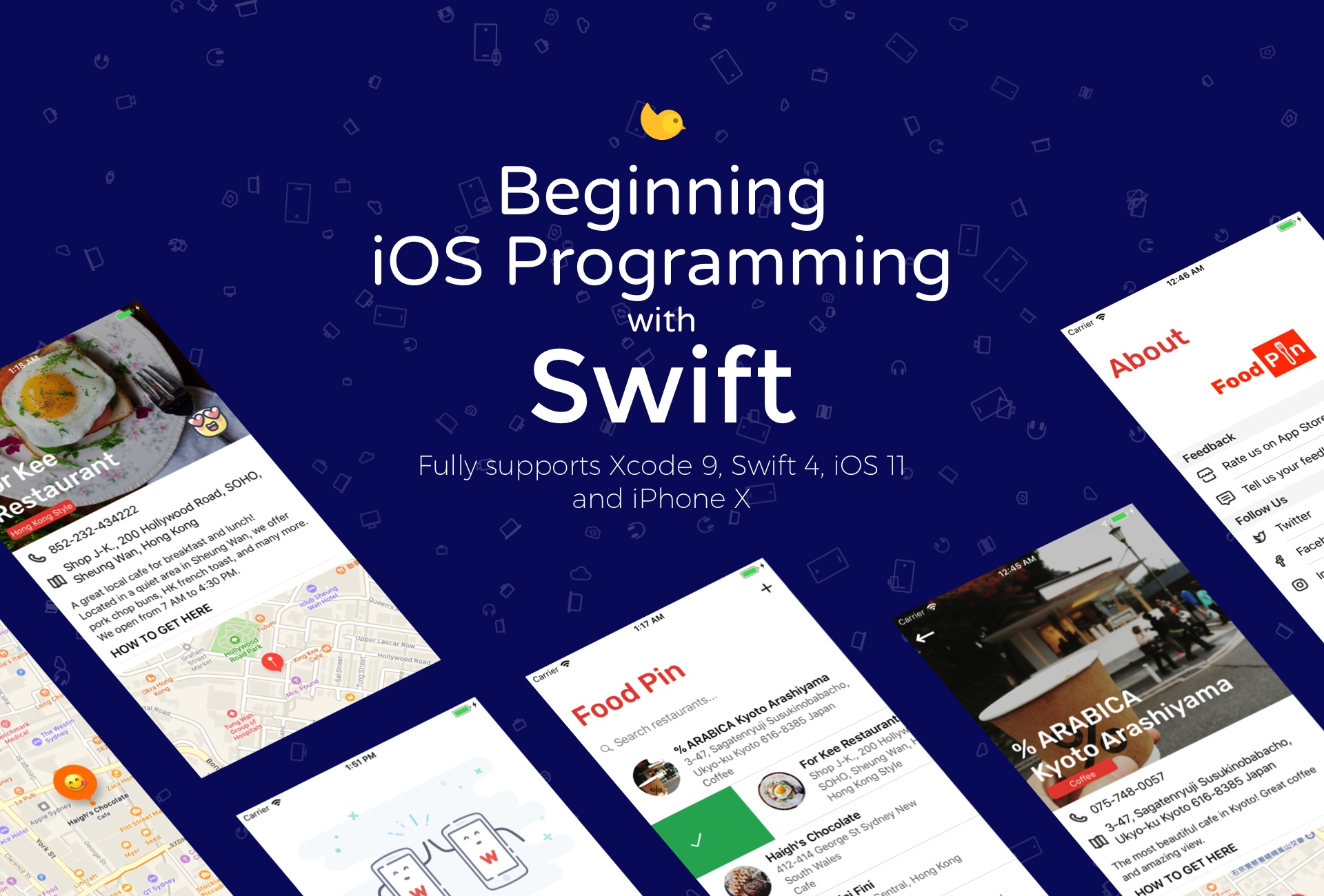 Beginning ios 11 programming with swift learn app development by doing fandeluxe