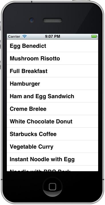 SimpleTable App