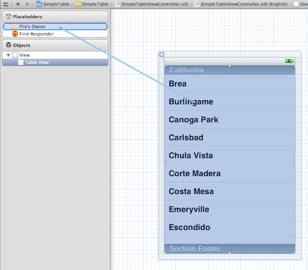 IOS Programming Tutorial Create A Simple Table App Using