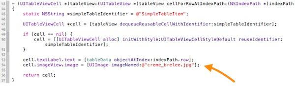 SimpleTable Image Code