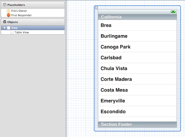 SimpleTable Table View Added