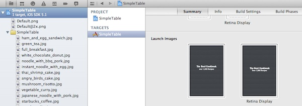 Launch Image Added in Xcode