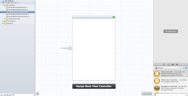 Default Storyboard in Xcode