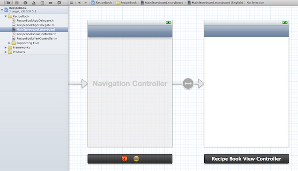 Storyboard Added with Navigation Controller