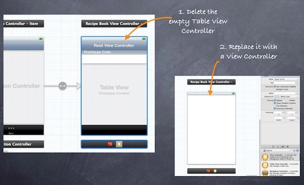 Storyboard Blank View Controller