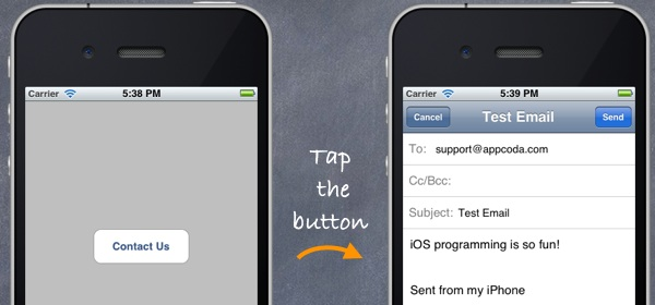 iOS Programming 101: How To Send Email in Your iPhone App