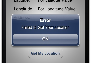 MyLocationDemo Fail to Get Location