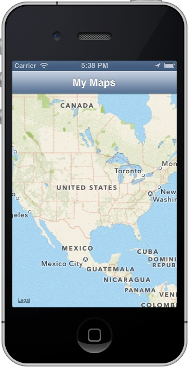 MyLocationMap App