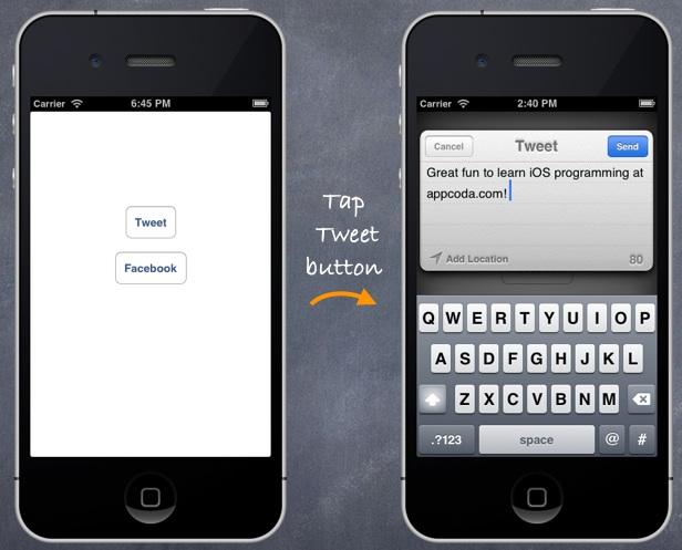 SocialSharing Twitter App