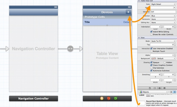 MyStore App - Table View Controller