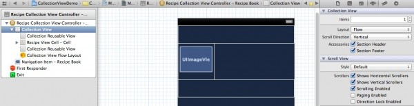 Storyboard Enables Section Header and Footer