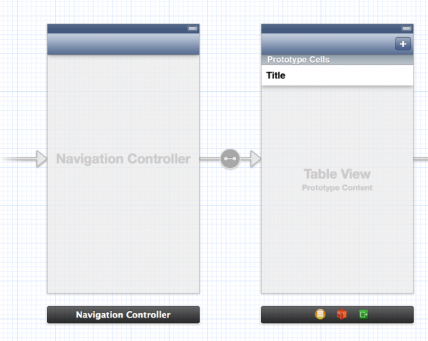 Designing Table View