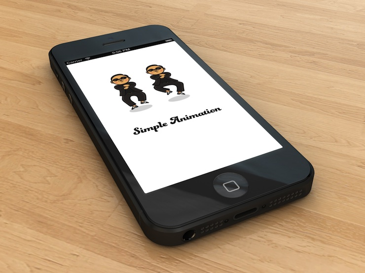 iOS Programming 101: Simple Animation Using UIImageView
