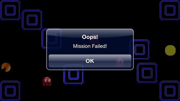 Maze Game Fail
