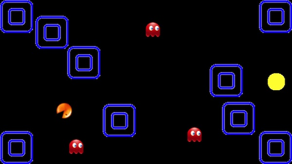 Maze Game Pacman rotates
