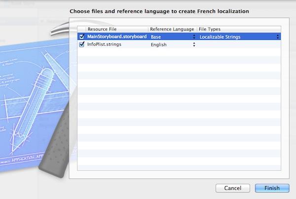 Adding localization