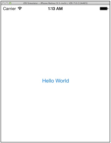HelloWorld App with Button