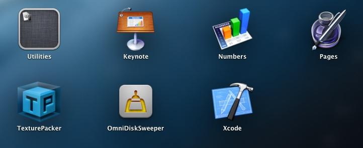Xcode Launchpad