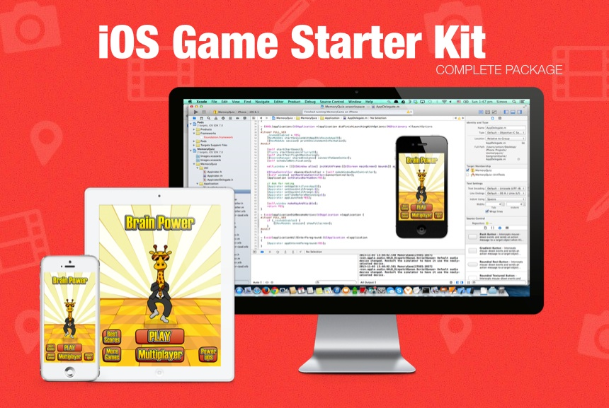 Announcing the iOS Game Starter Kit