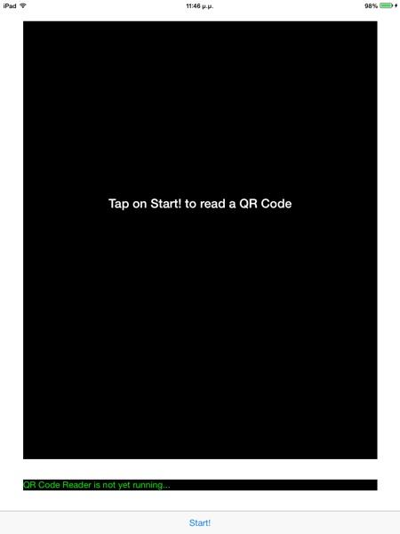 QR Code Demo App 1