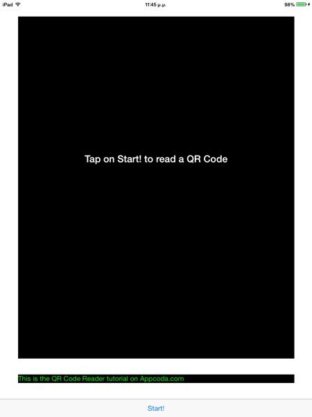 QR Code Demo App 2