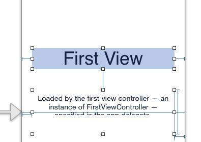 Delete default view controller