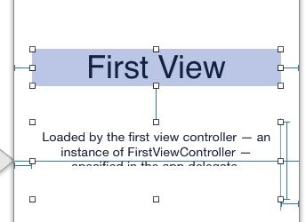Xcode Storyboard Delete Default Content