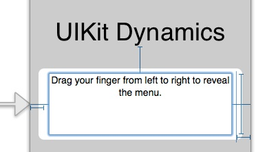 UIKit Dynamics - Second VC
