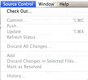 Version Control Disable Source Control