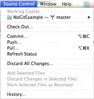 Version Control Enable Source Control