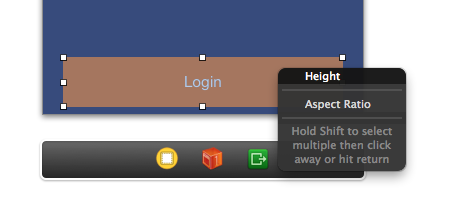 Auto Layout - Set Height Constraint