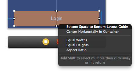 Auto Layout - Bottom space to bottom layout