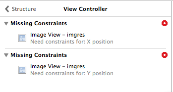 missing constraints