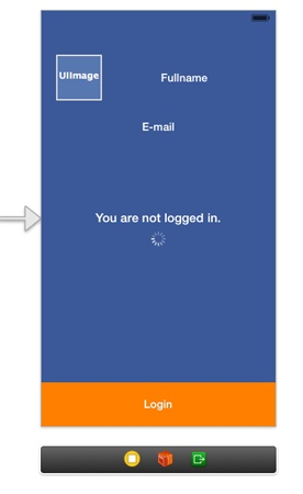 Facebook Login Manual - Interface