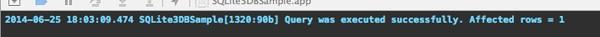 SQLite - Insert Record