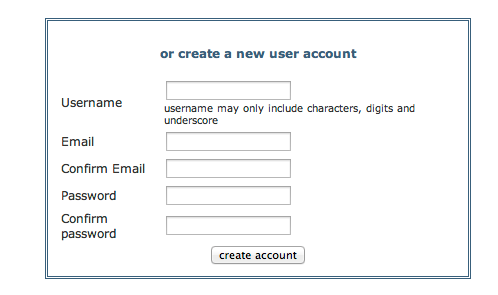 JSON and XML Demo - Register Account