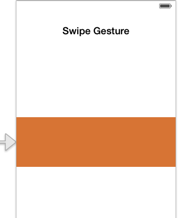 Swipe Gesture View Controller