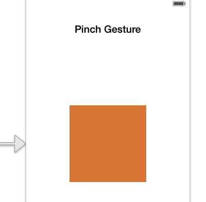 Gesture - Pinch View Controller