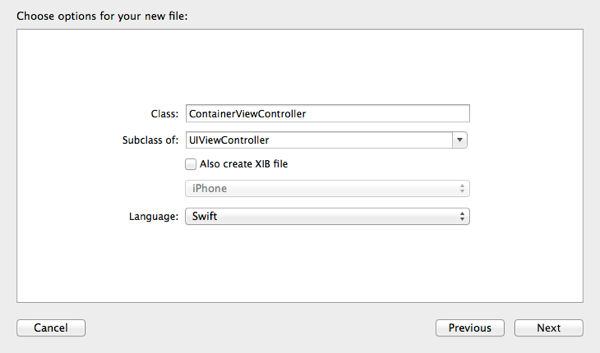 Topics Container View Controller