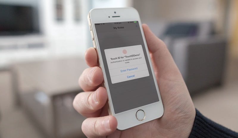 Working with Touch ID API in iOS 8 SDK