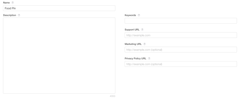TestFlight - App Info