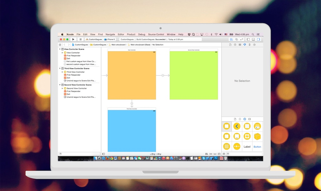 A Beginner's Guide to Animated Custom Segues in iOS 8