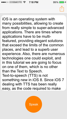 text to speech demo