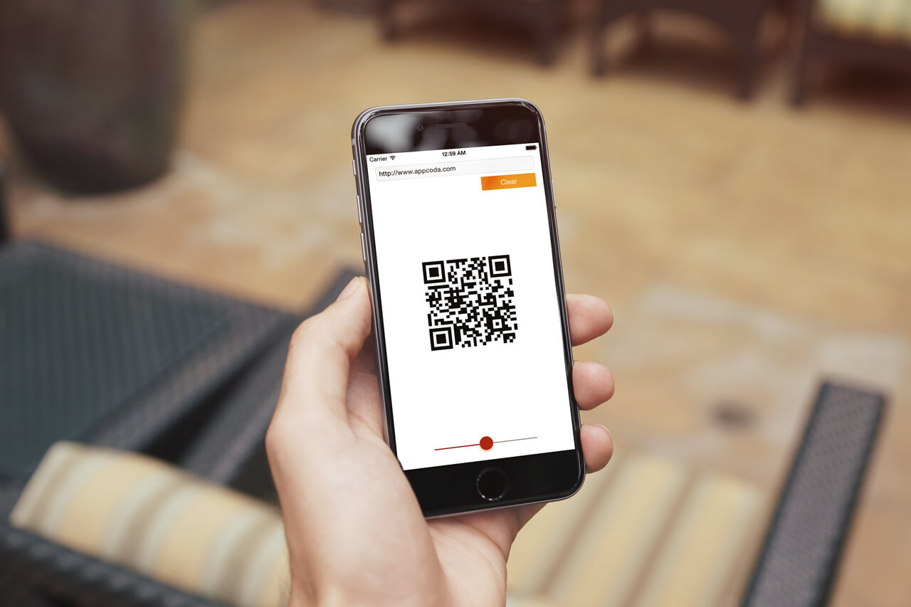 Building a QR Code Generator with Core Image Filters