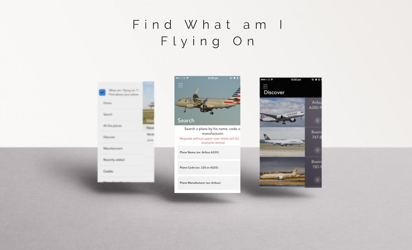 App Showcase #4: What am I Flying On by Antoine Bellanger