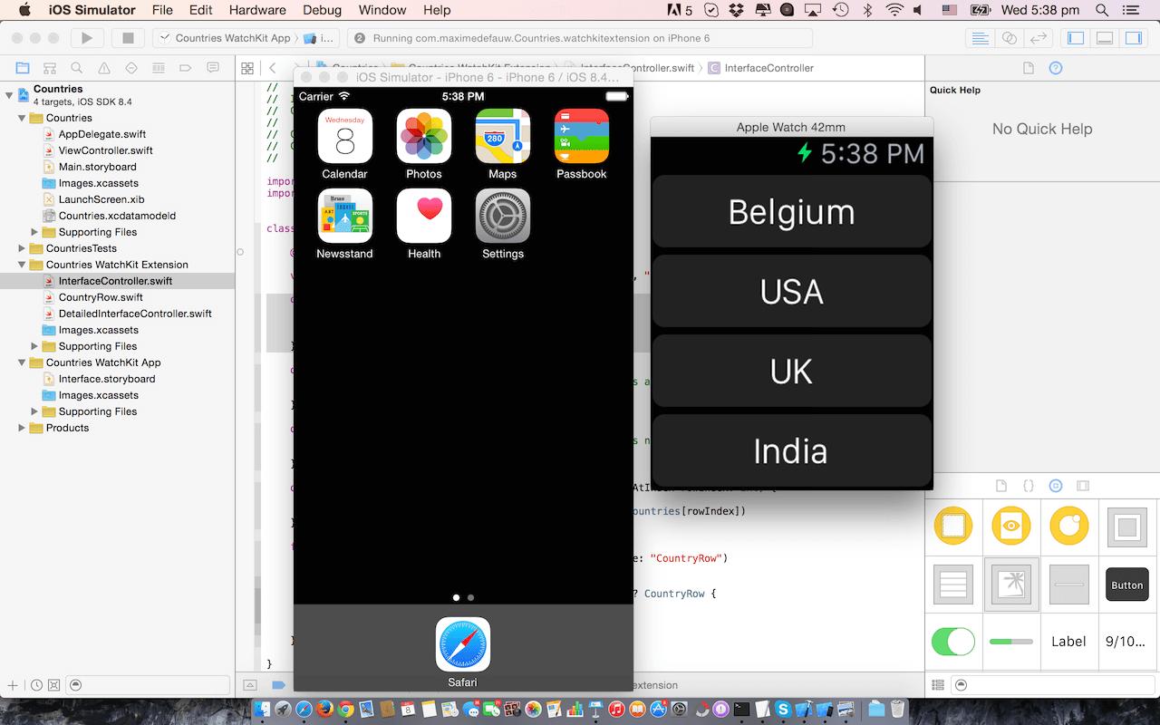 run-watchkit-app