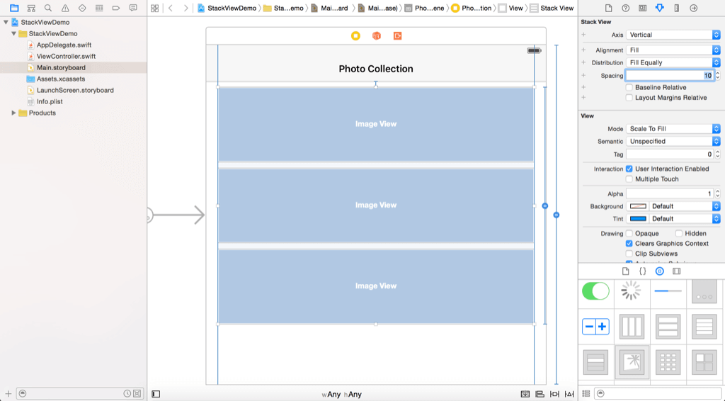An Introduction to Stack Views in iOS 9 and Xcode 7