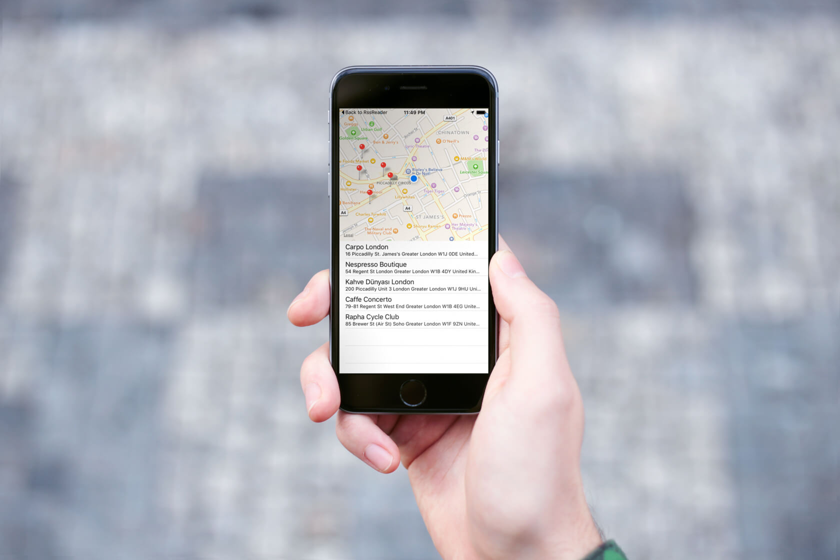 Building a Coffee Shop App with Swift, Foursquare API and Realm
