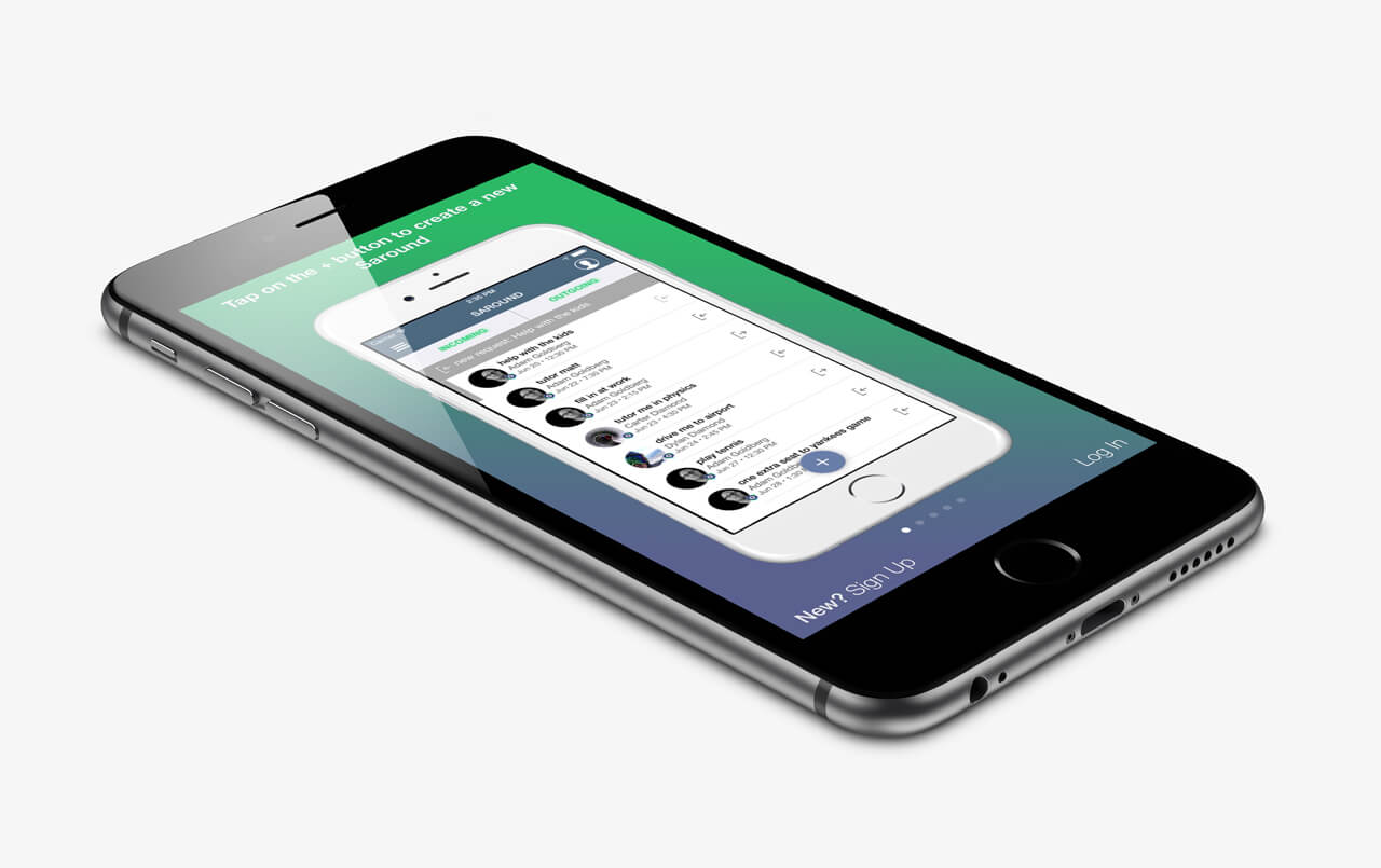 App Showcase #5: Saround by Dylan Diamond